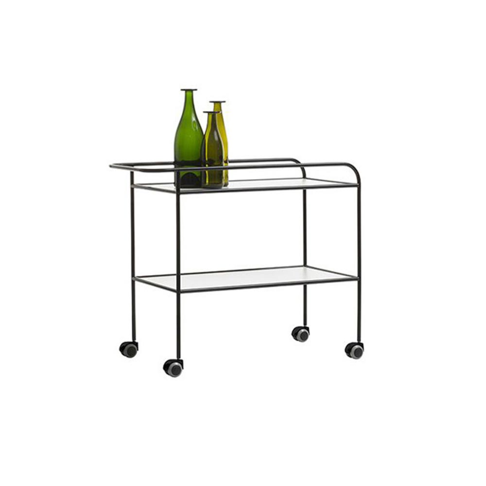 Steel Pipe Bar Trolley by Cappellini