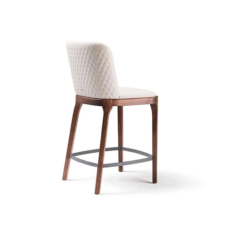 Magda Couture Barstool by Cattelan Italia