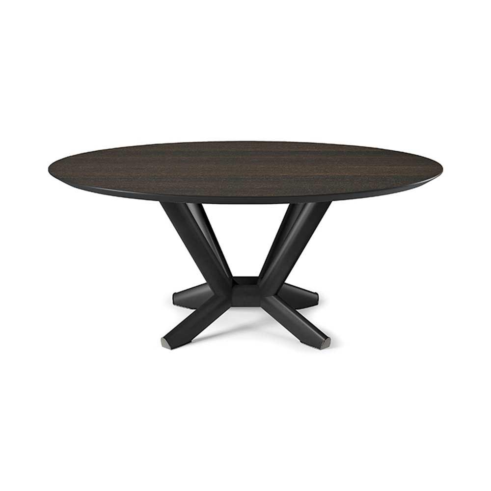 Planer Wood Round Dining Table by Cattelan Italia