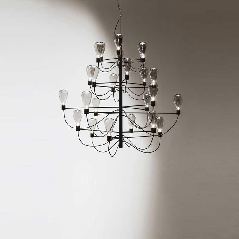 Poseidon Ceiling Lamp by Cattelan Italia