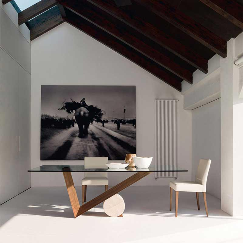 Valentino Fixed Table by Cattelan Italia