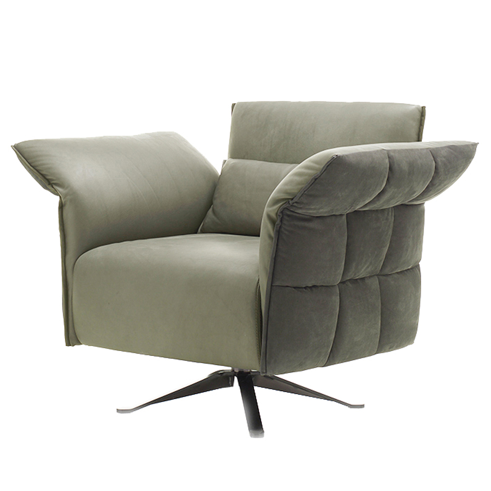 Eva Due Swivel Armchair by Cierre