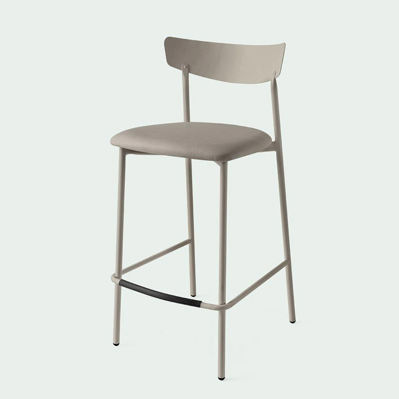 Clip Bar Stool by Connubia Calligaris