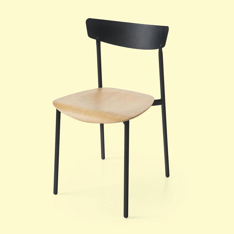 Clip Cb1971 Dining Chair by Connubia Calligaris
