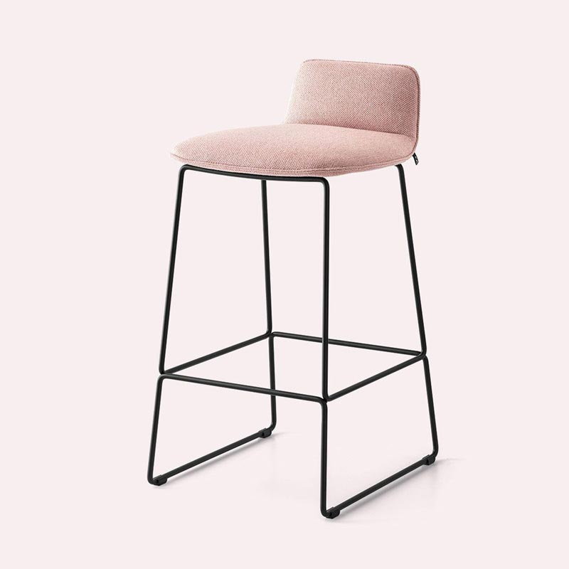 Riley Soft Cb2108-A Bar Stool by Connubia Calligaris