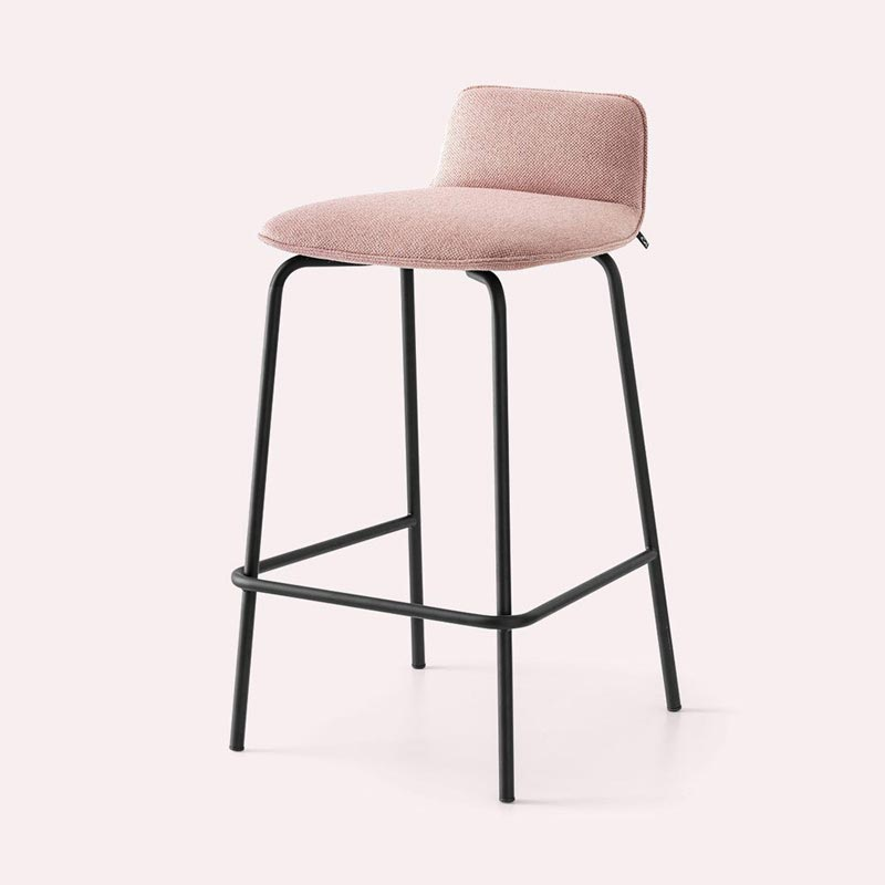 Riley Soft Cb2110-A Bar Stool by Connubia Calligaris