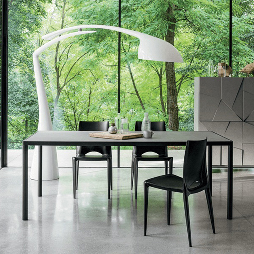 Concrete Dining Table by Dallagnese