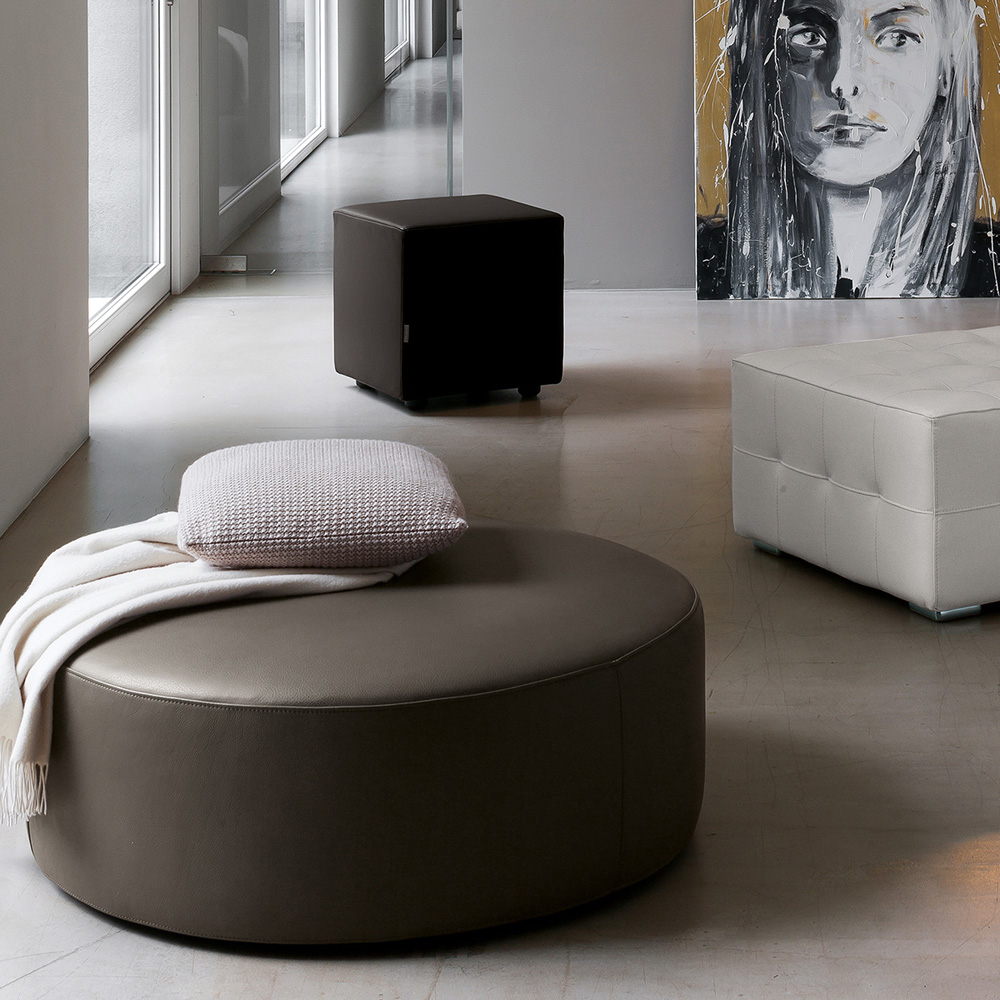 Cube Footstool by Dallagnese