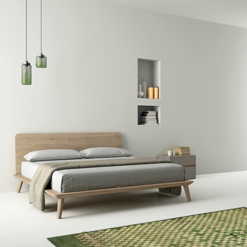 Easy Double Bed by Dallagnese