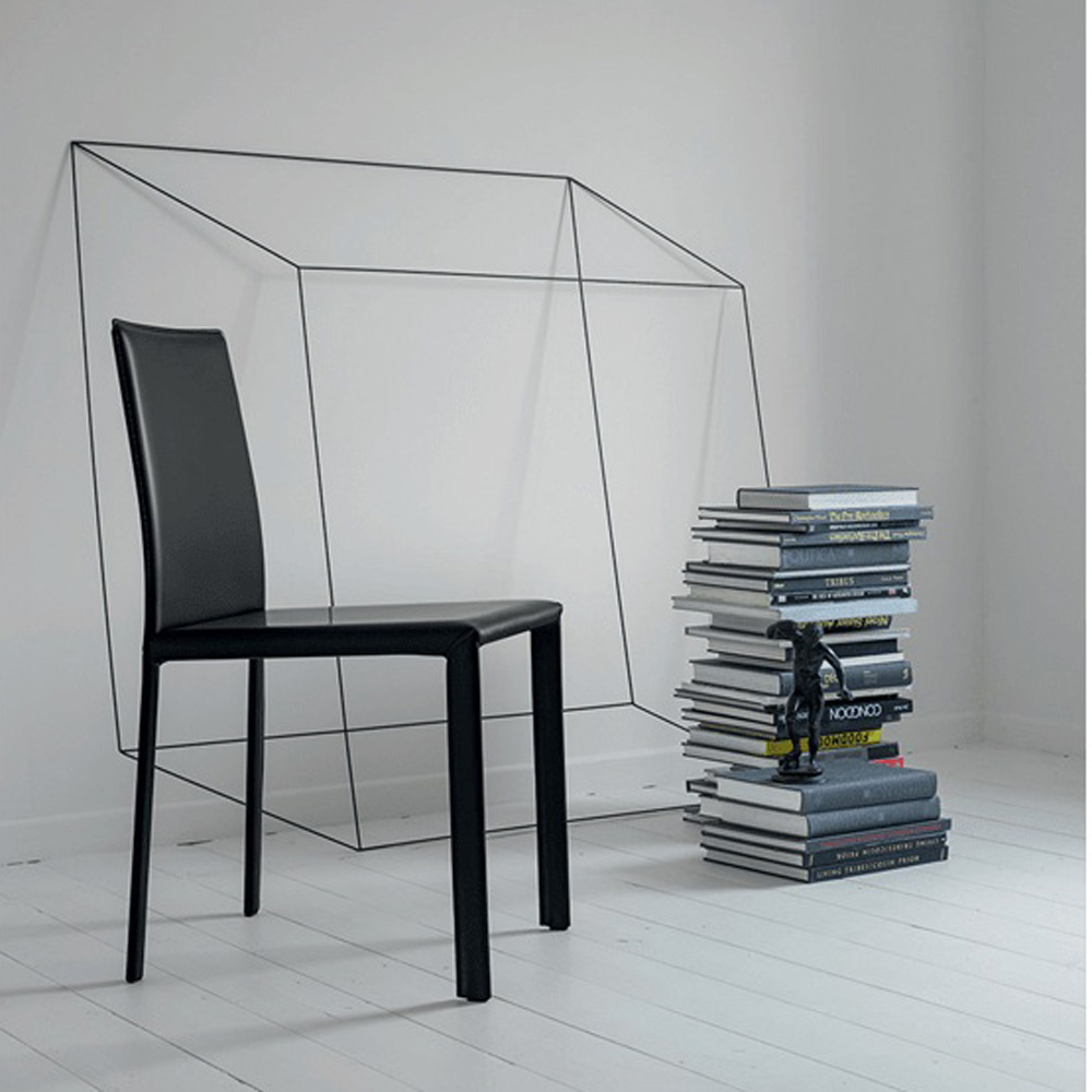 Ready Sliced Dining Chair by Dallagnese