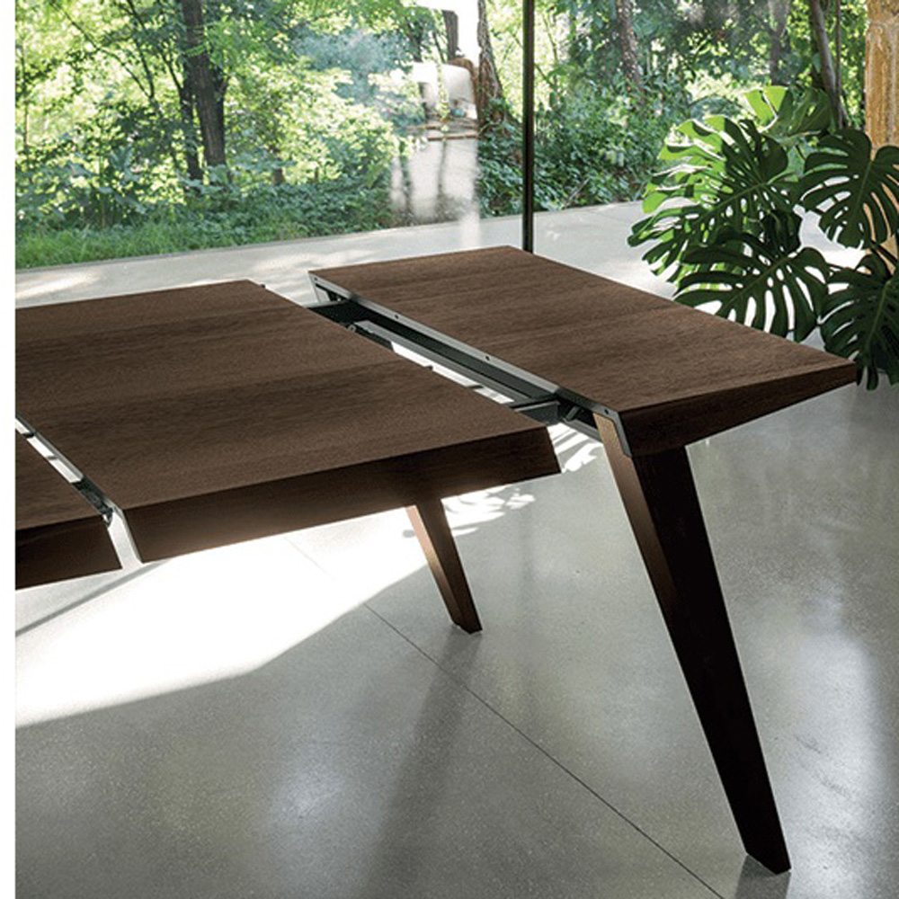 Slash Flap Dining Table by Dallagnese