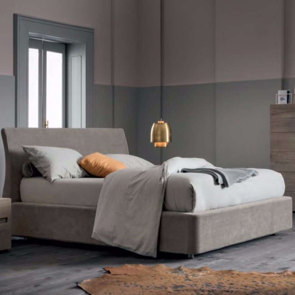 Soft Double Bed by Dallagnese