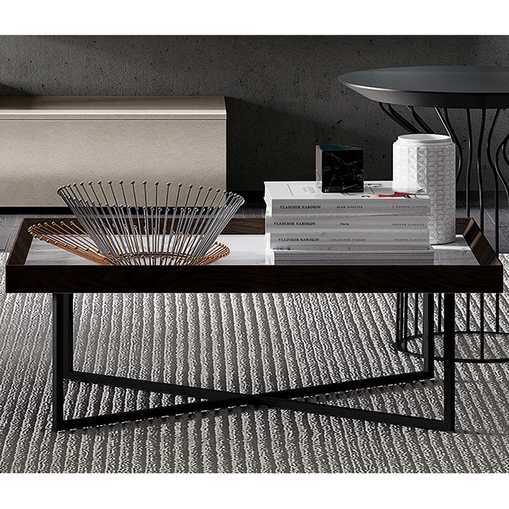 Stripe Coffee Table by Dallagnese