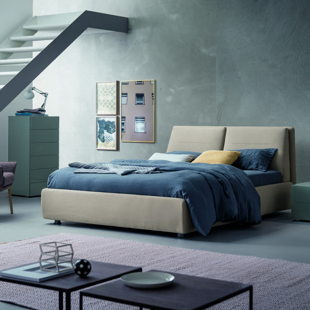 Twist Double Bed by Dallagnese