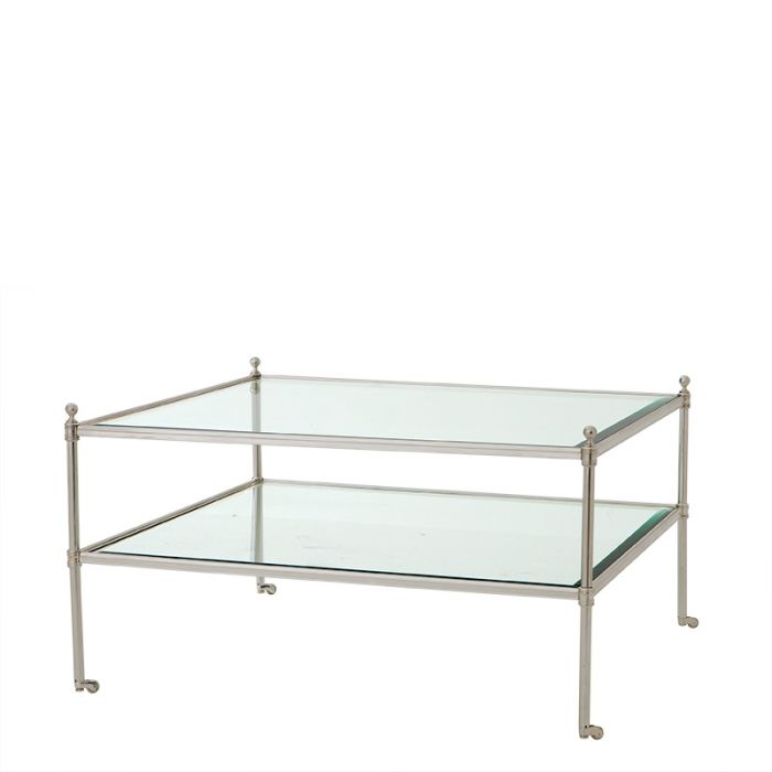 Aubrey Silver Plated Coffee Table by Eichholtz