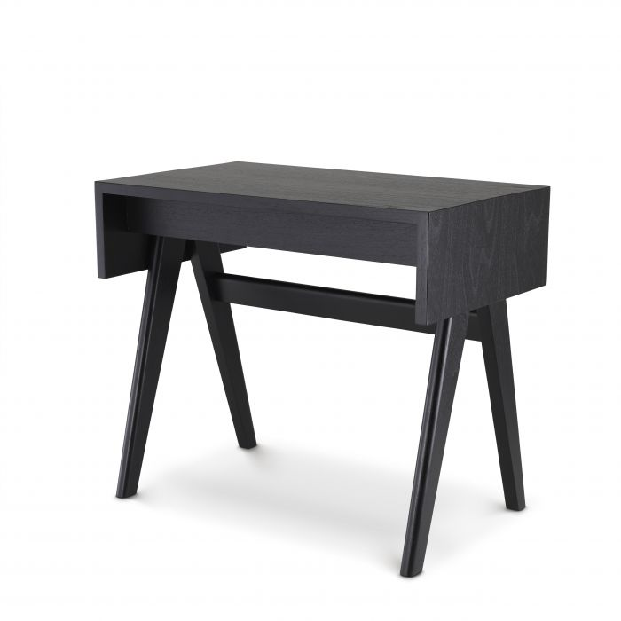 Fernand Classic Black Desk by Eichholtz