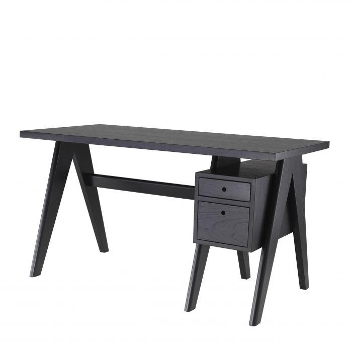 Jullien Classic Black Desk by Eichholtz