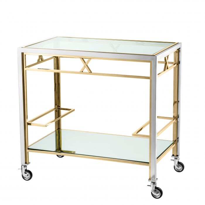 Lindon Bar Trolley by Eichholtz