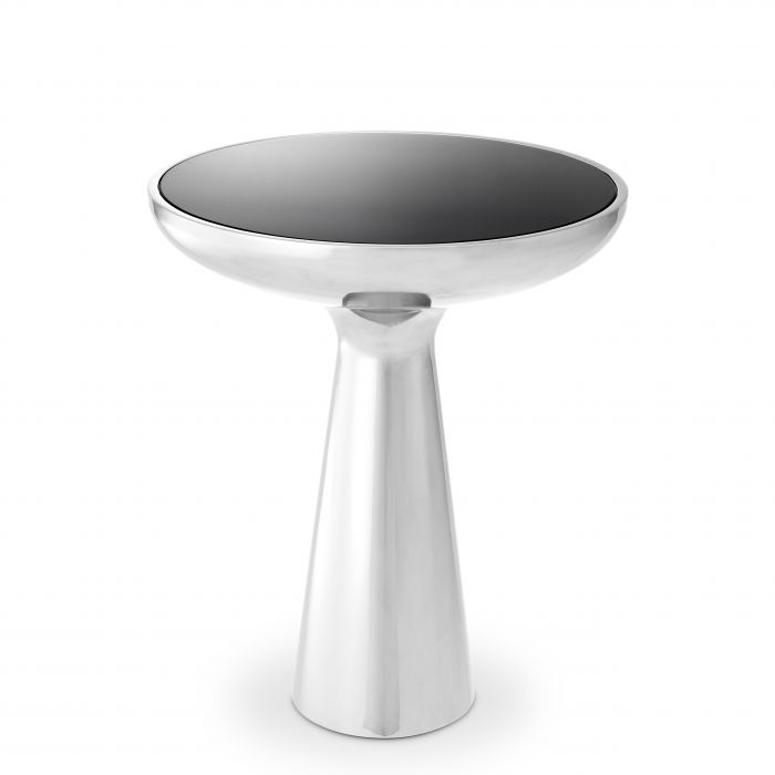 Lindos Low Stainless Steel Side Table by Eichholtz