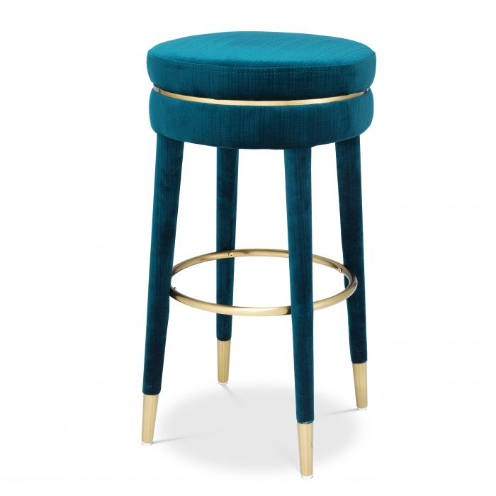 Parisian Bar Stool by Eichholtz