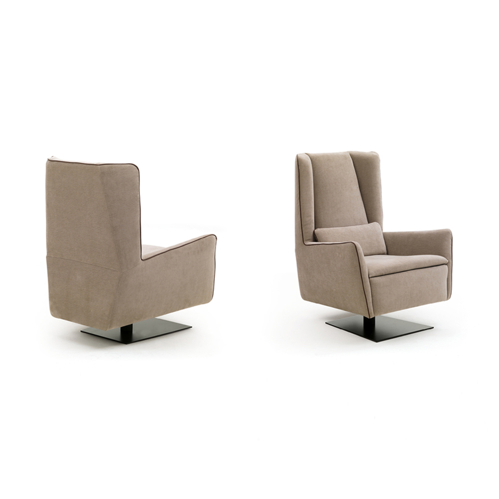 Clino Armchair Essence Collection by Naustro Italia