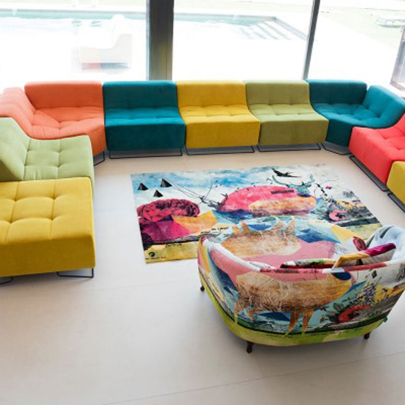 Luci Pop Sofa by Fama