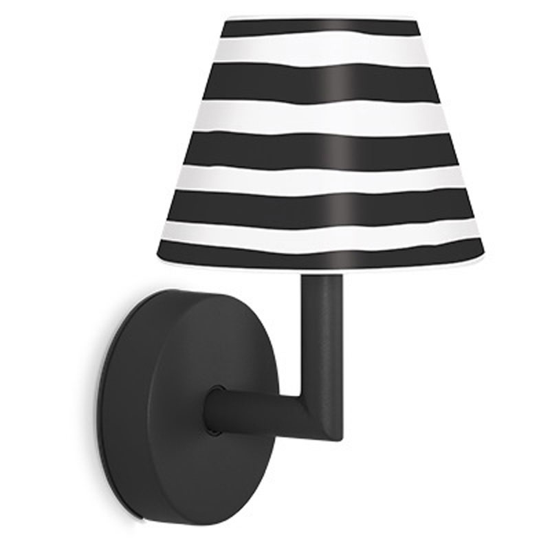 Add The Wally Anthracite Wall Lamp by Fatboy