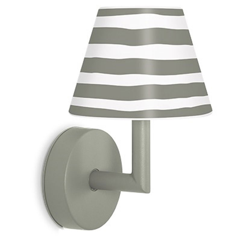 Add The Wally Grey Wall Lamp by Fatboy