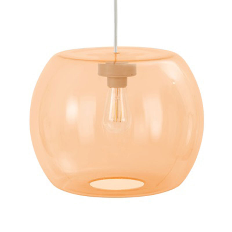 Candyofnie 1D Dark Orange Pendant Lamp by Fatboy