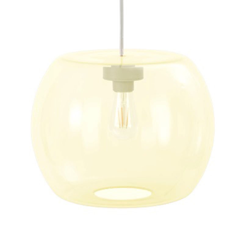 Candyofnie 1D Light Yellow Pendant Lamp by Fatboy