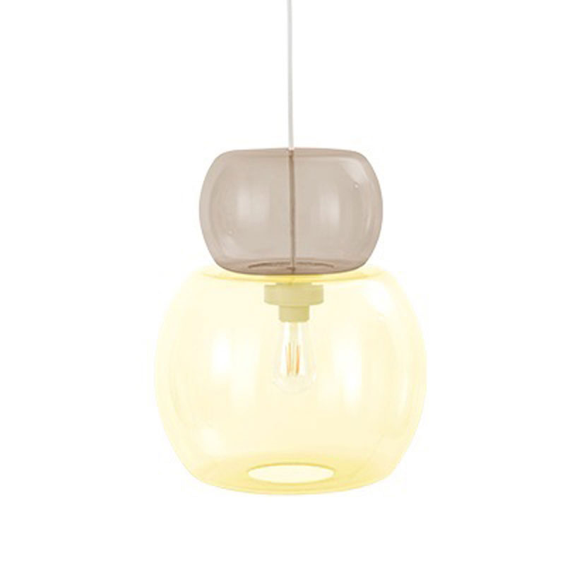 Candyofnie 2D Taupe Yellow Pendant Lamp by Fatboy