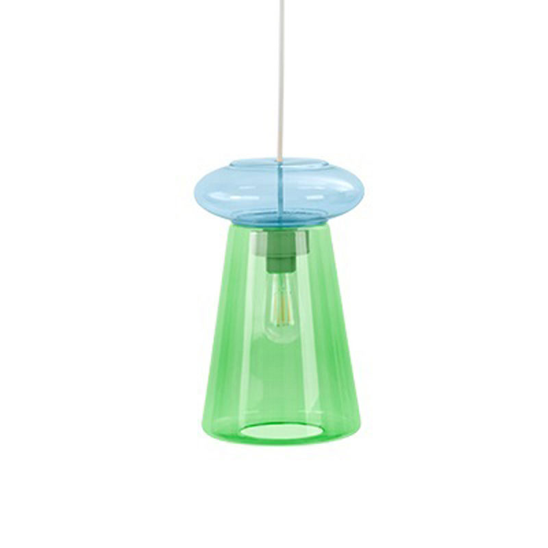Candyofnie 2F Green Blue Pendant Lamp by Fatboy