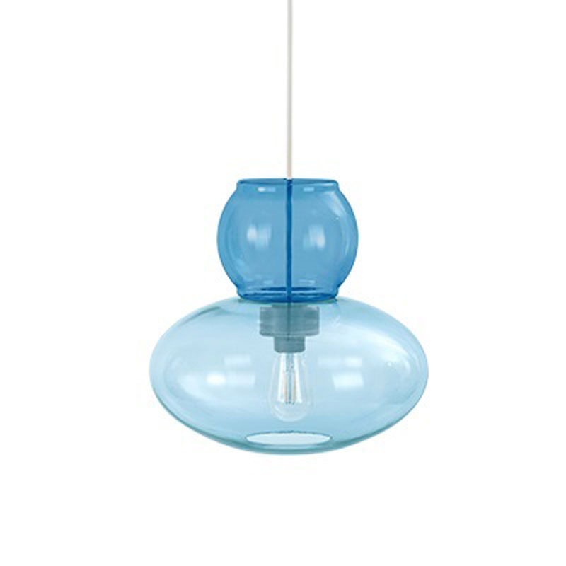 Candyofnie 2H Light Blue Pendant Lamp by Fatboy