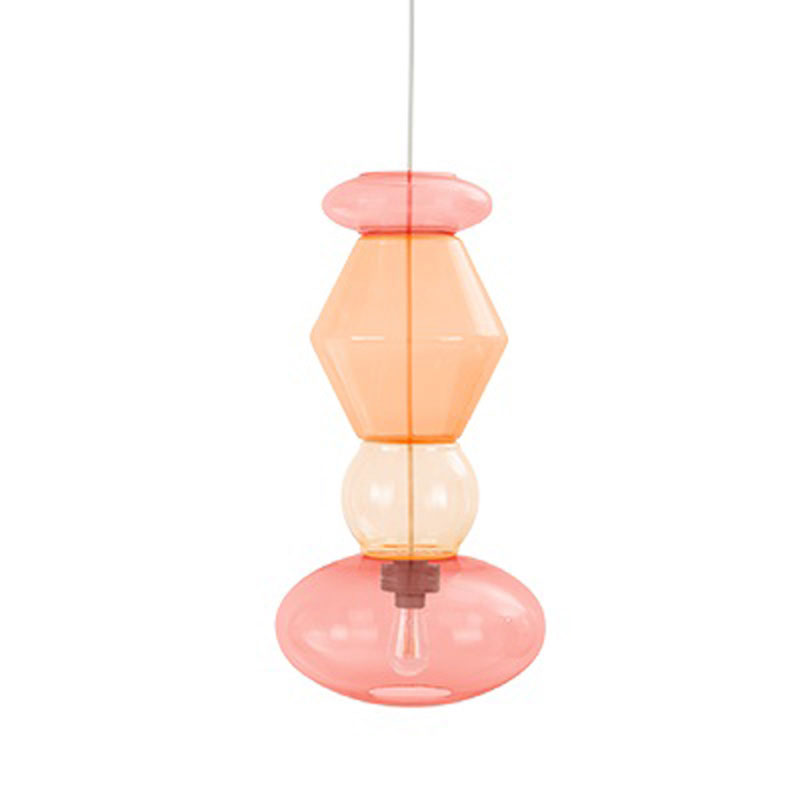 Candyofnie 4H Raspberry Orange Pendant Lamp by Fatboy