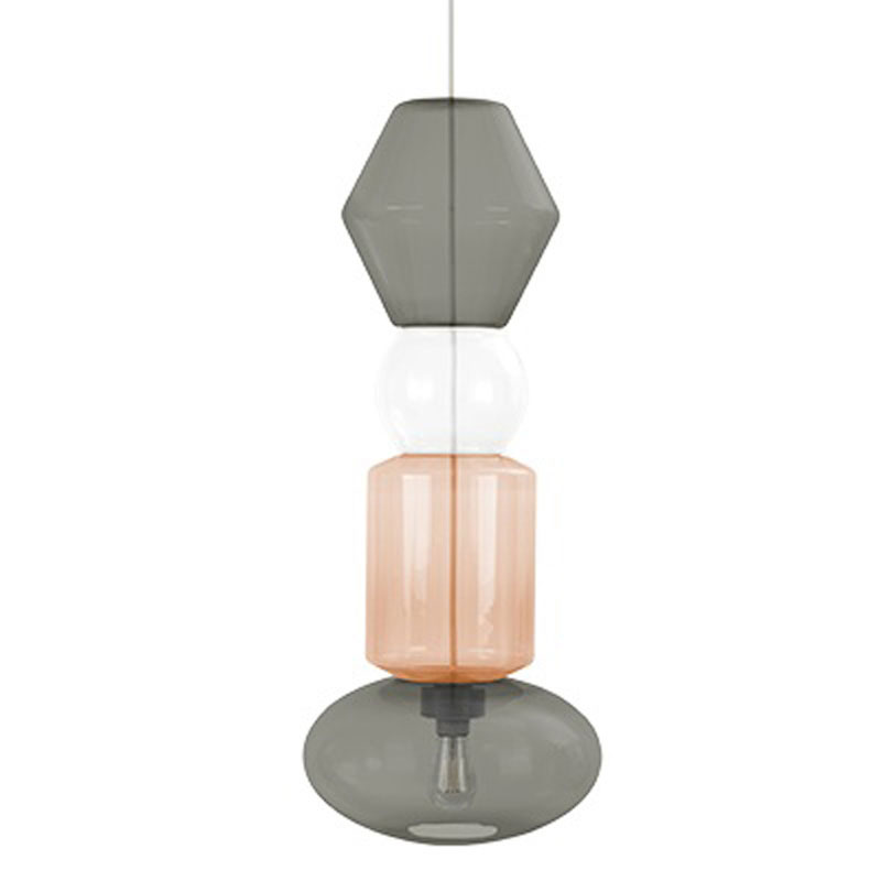 Candyofnie 4I Grey Light Brown Pendant Lamp by Fatboy
