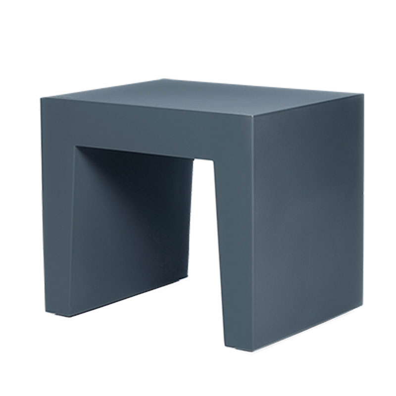 Concrete Seat Anthracite Footstool by Fatboy