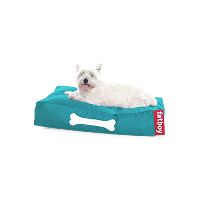 Doggie Nylon Small Turquoise Lounger by Fatboy