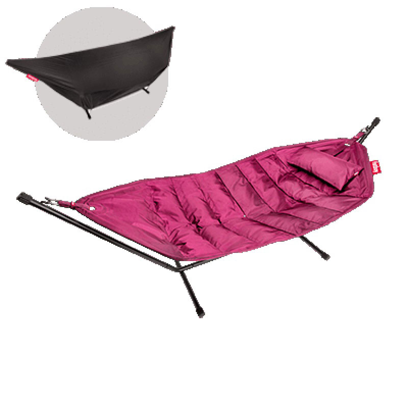Headdemock Deluxe Hammock With Frame Pillow And Cover Pink by Fatboy