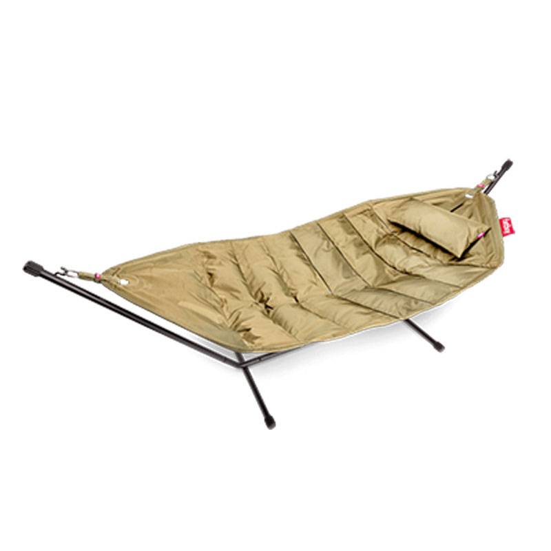 Headdemock Hammock With Frame And Pillow Sand by Fatboy