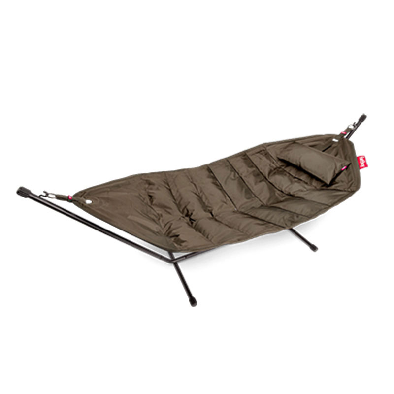 Headdemock Hammock With Frame And Pillow Taupe by Fatboy