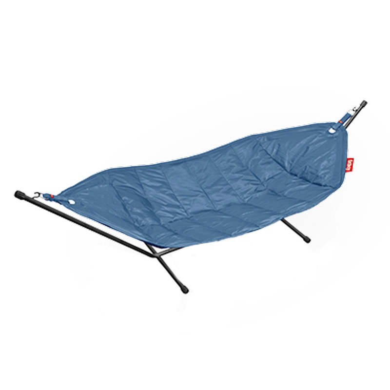 Headdemock Hammock With Frame Jeans Light Blue by Fatboy