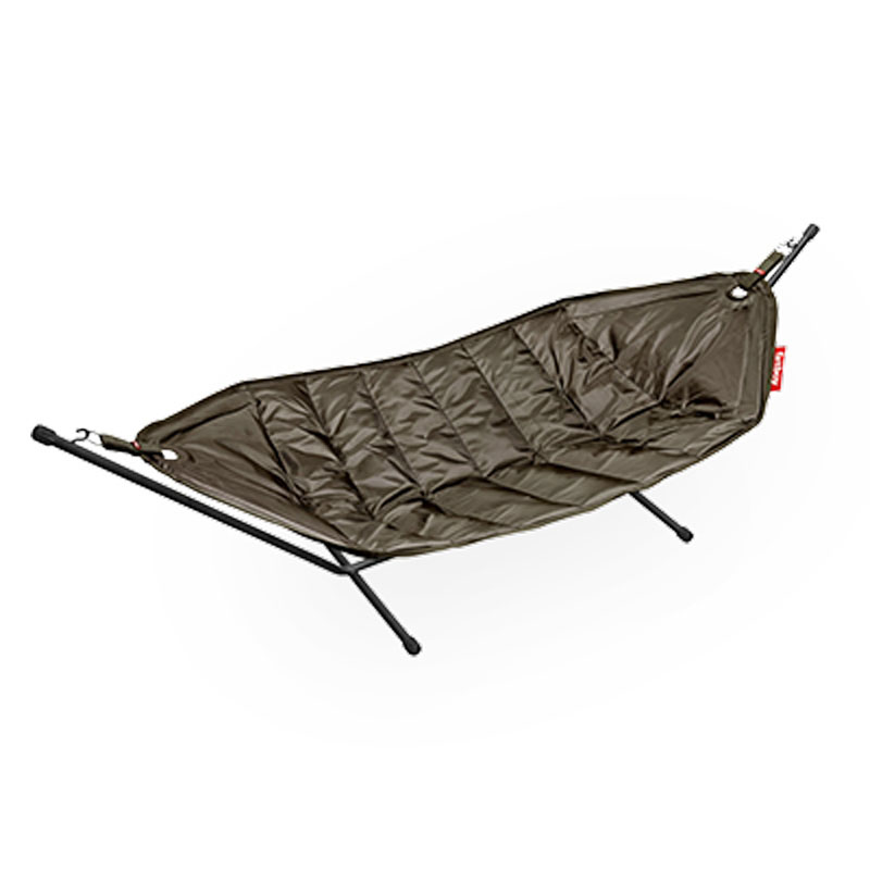 Headdemock Hammock With Frame Taupe by Fatboy