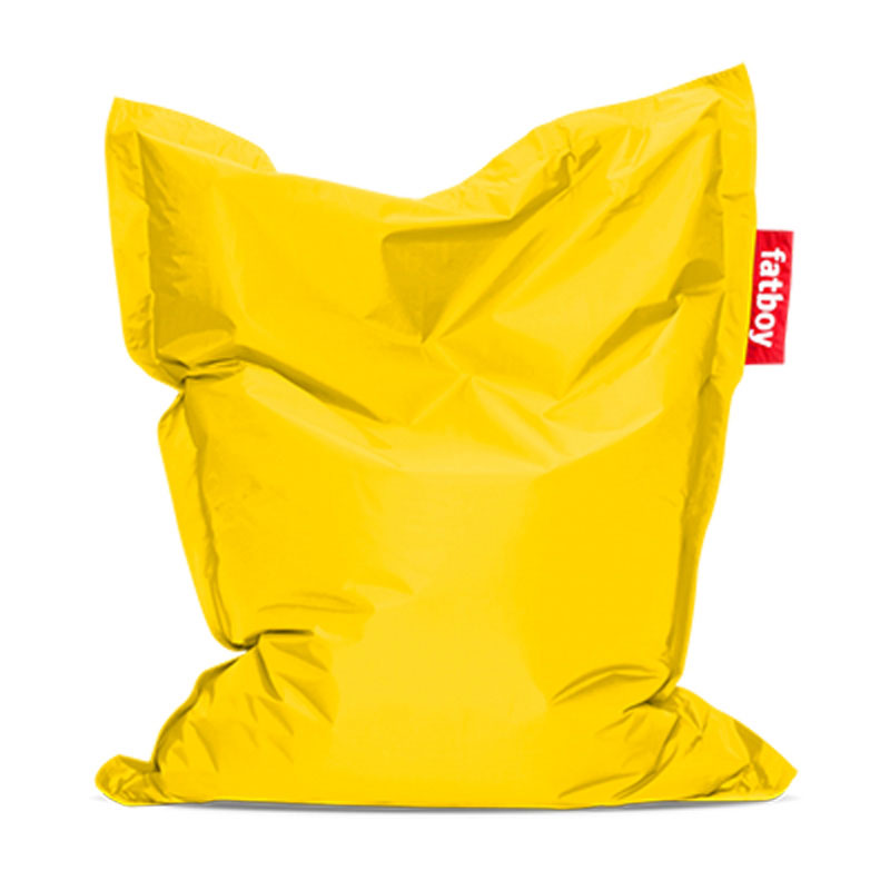 Junior Yellow Bean Bag by Fatboy