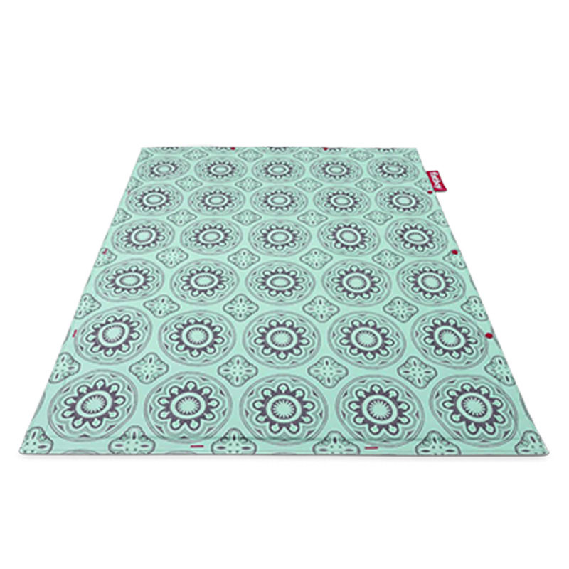 Non-Flying Casablanca Turquoise Rug by Fatboy