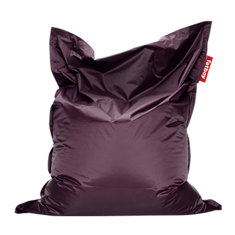 Original Dark Purple Bean Bag by Fatboy