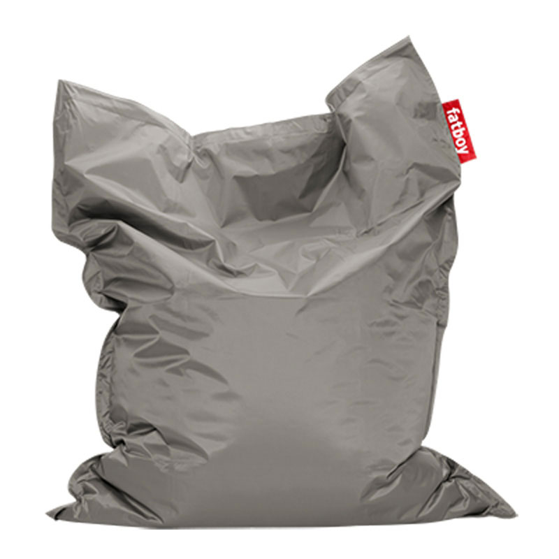 Original Silver Bean Bag by Fatboy