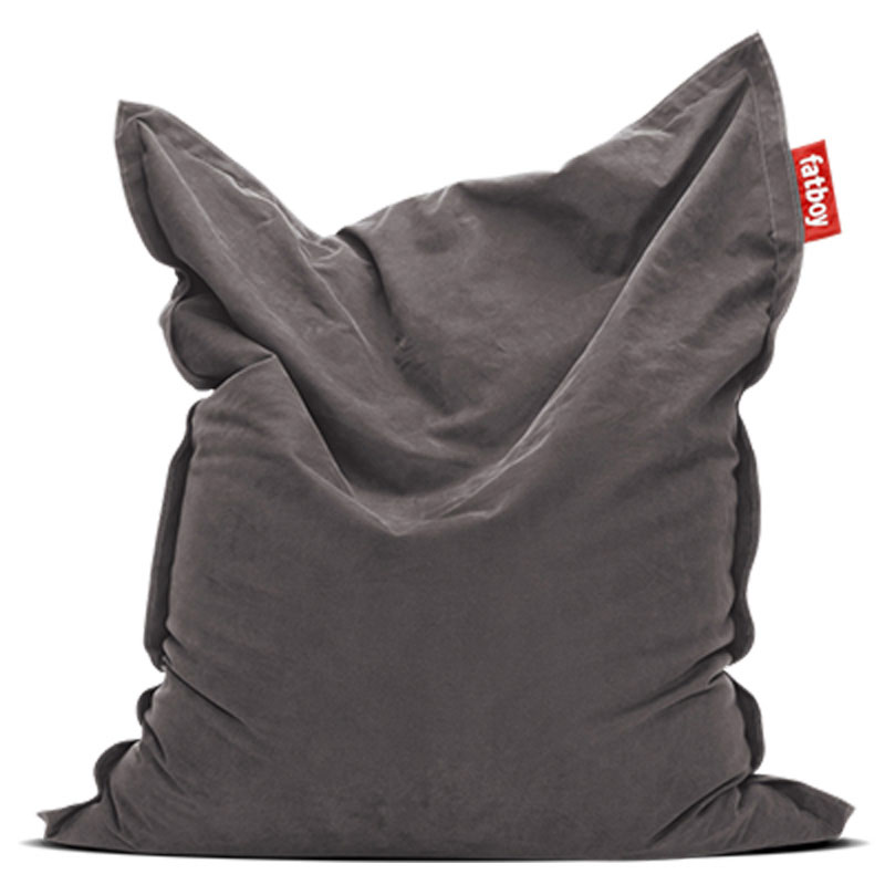 Original Stonewashed Grey Bean Bag by Fatboy
