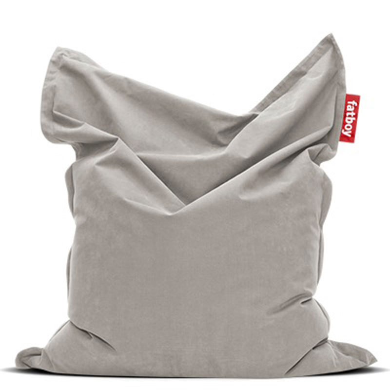 Original Stonewashed Silver Grey Bean Bag by Fatboy