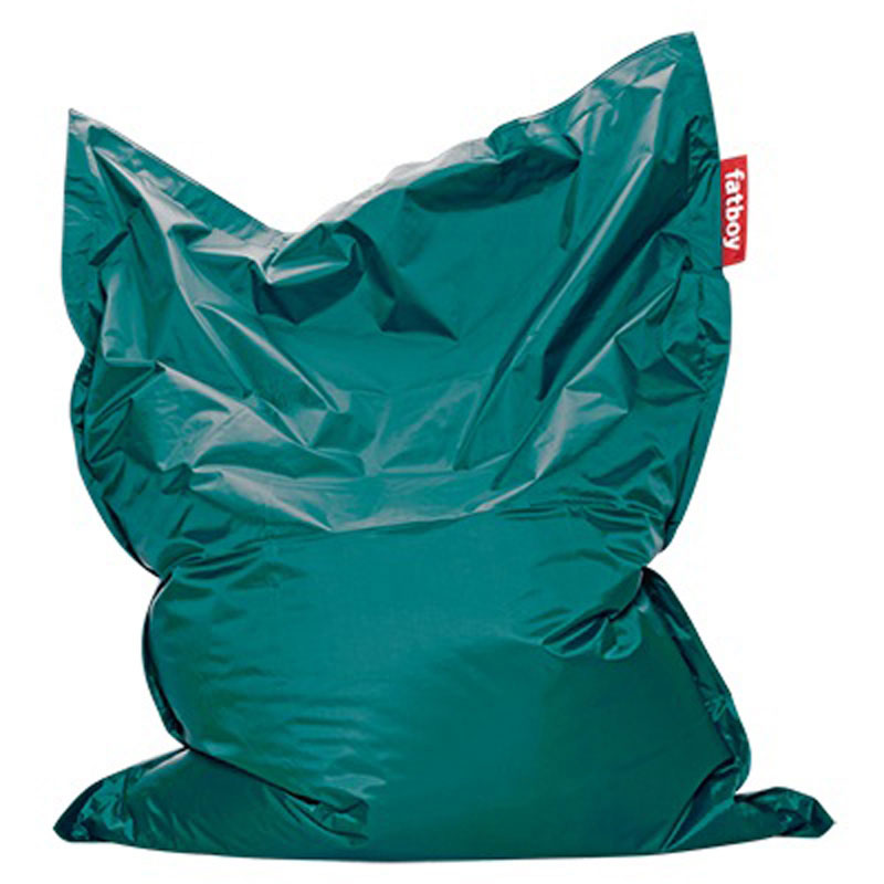 Original Turquoise Bean Bag by Fatboy