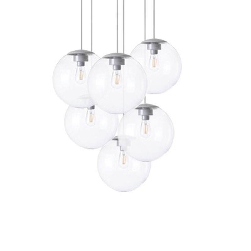 Spheremaker 6 Transparent Pendant Lamp by Fatboy